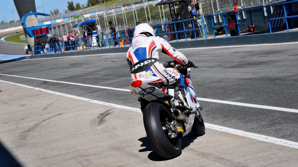 Ratthapark Wilairot, Honda Gresini Moto2 - Jerez Test