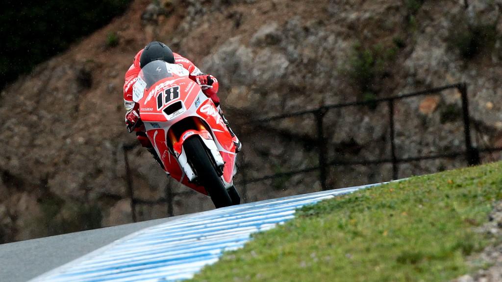Nico Terol, Mapfre Aspar Team Moto2 - Jerez Test