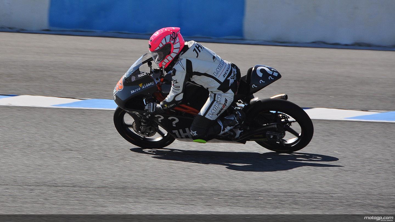 motogp.com · Ana Carrasco, JHK T-Shirt Laglisse - Jerez Test