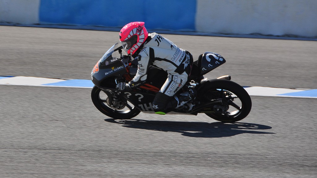 Ana Carrasco, JHK T-Shirt Laglisse - Jerez Test