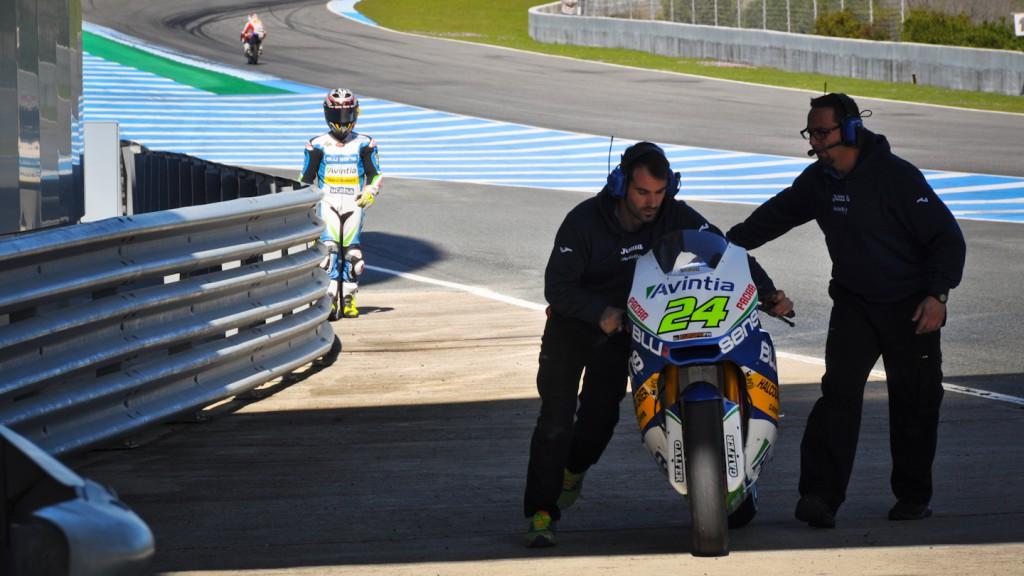 Toni Elias, Blusens Avintia - Jerez Test