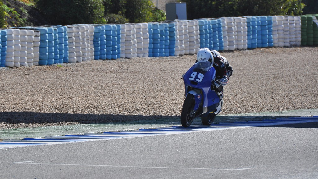 Danny Webb, Ambrogio Racing - Jerez Test