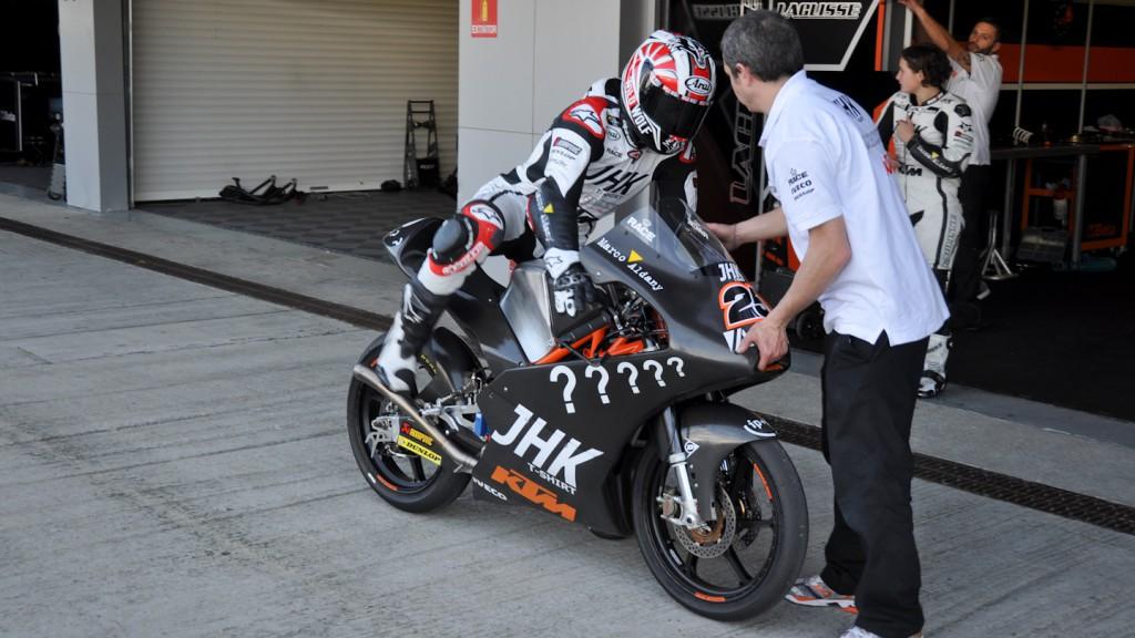 Maverick Viñales, JHK T-Shirt Laglisse - Jerez Test