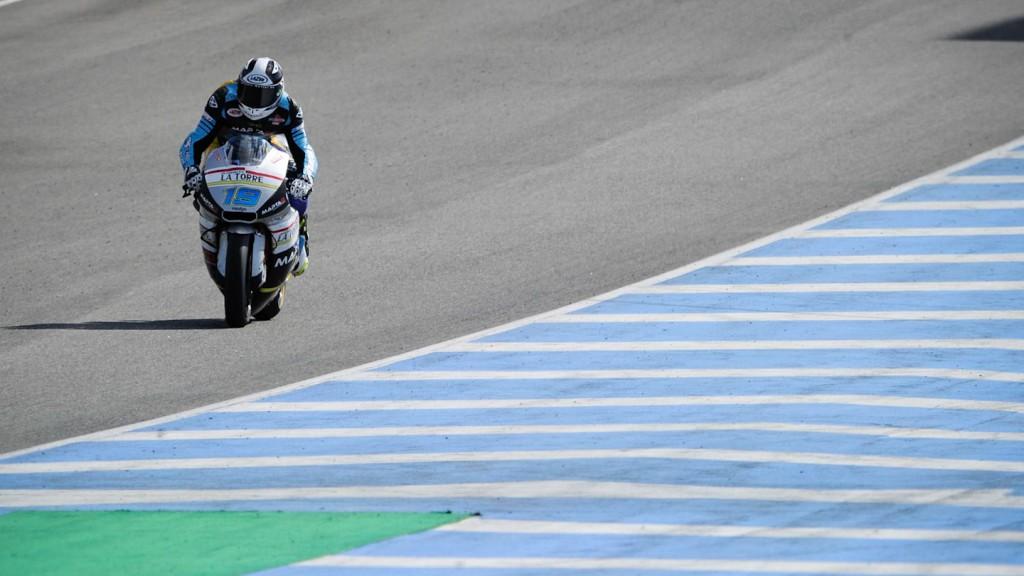 Xavier Simeon, SAG Team - Jerez Test
