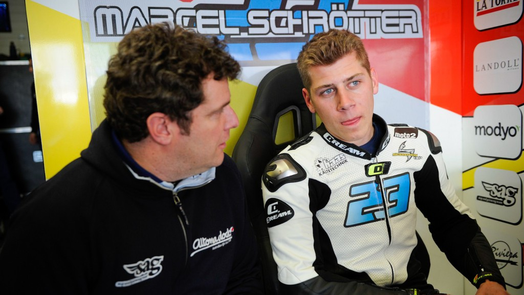 Marcel Schrotter, SAG Team - Jerez Test