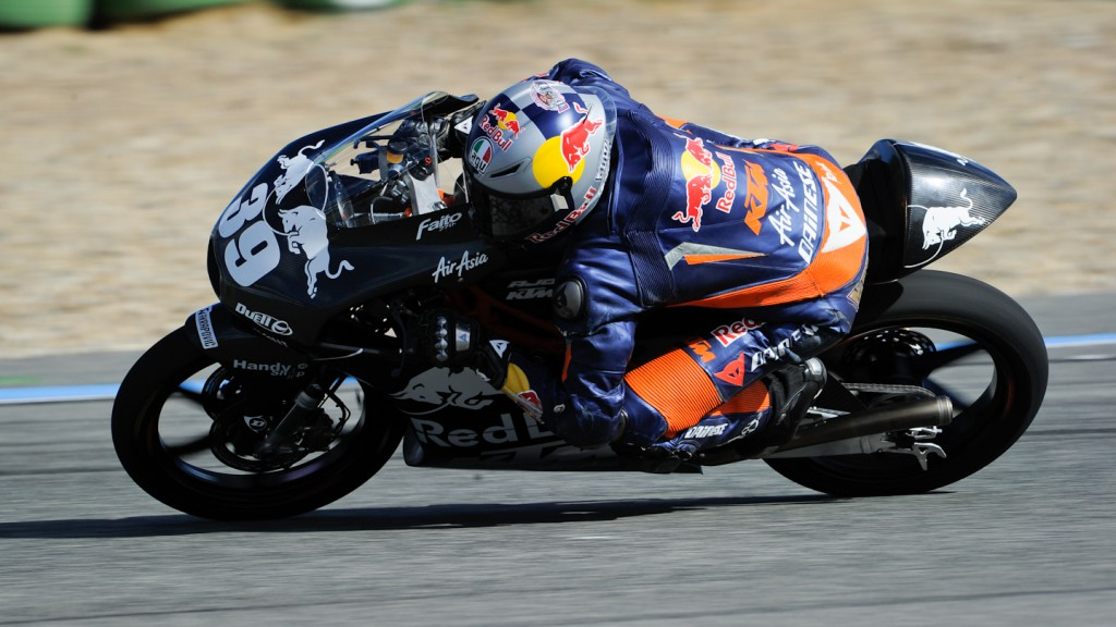 Luis Salom, Red Bull KTM Ajo - Jerez Test