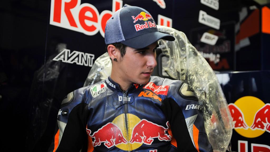 Luis Salom, Red Bull KTM Ajo - Jerez Test