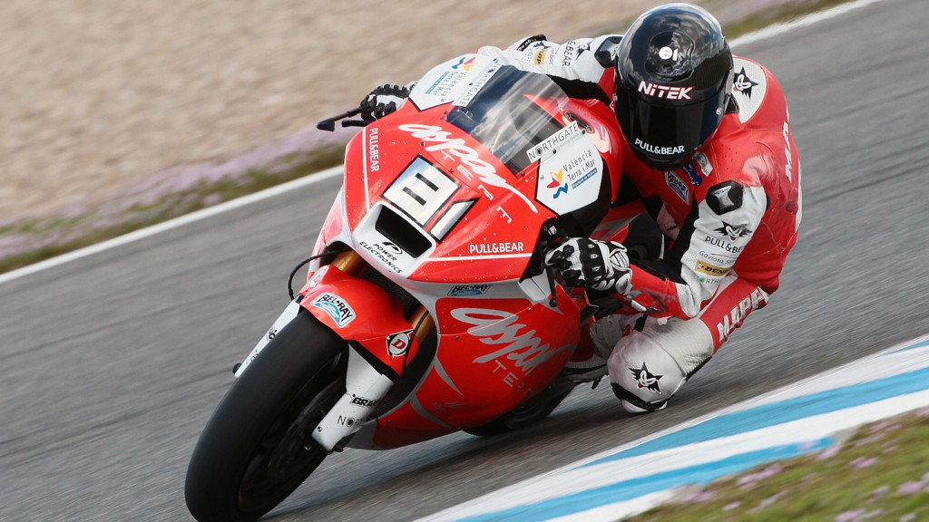 Jordi Torres, Mapfre Aspar Team Moto2 - Jerez Test