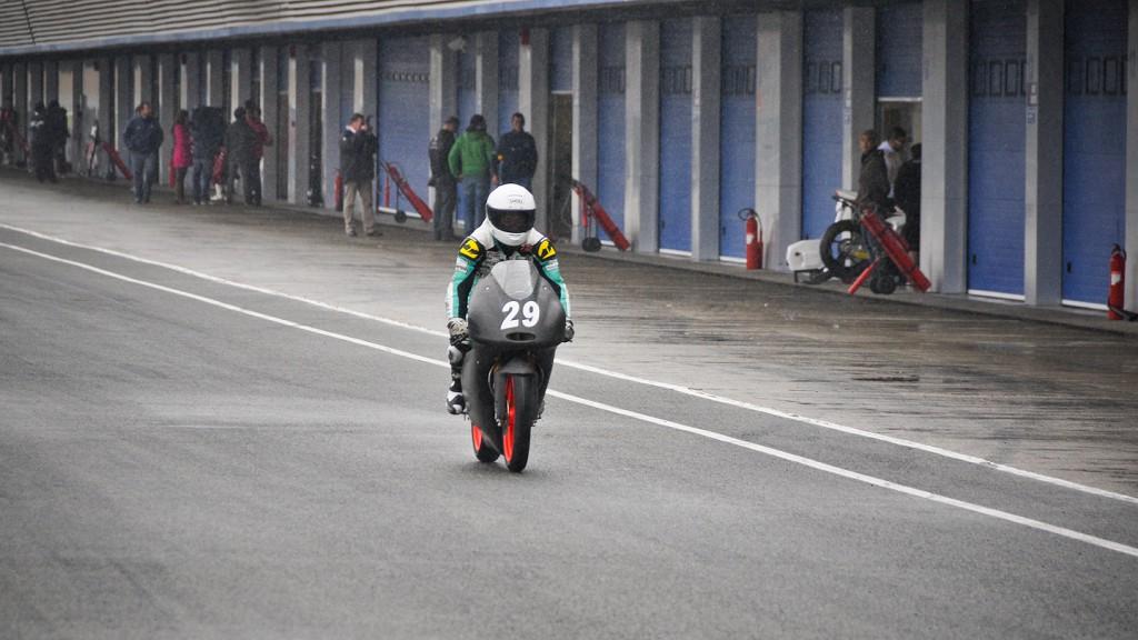 Hyuga Watanabe, La Fonte Tascaracing - Jerez Test
