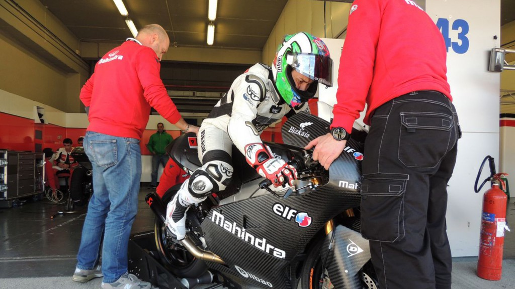 Efren Vazquez, Mahindra Racing - Jerez Test