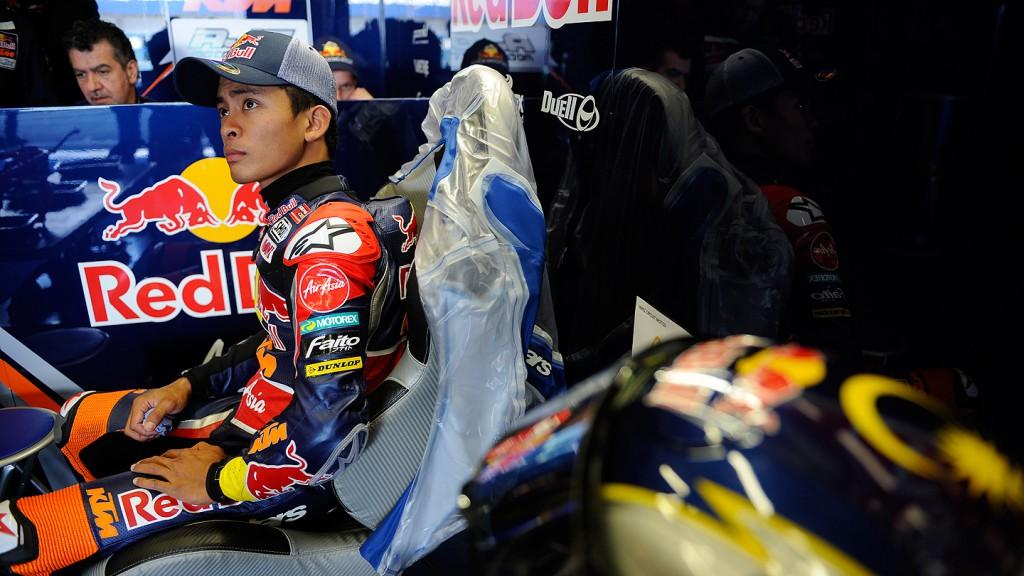 Zulfahmi Khairuddin, Red Bull KTM Ajo - Jerez Test