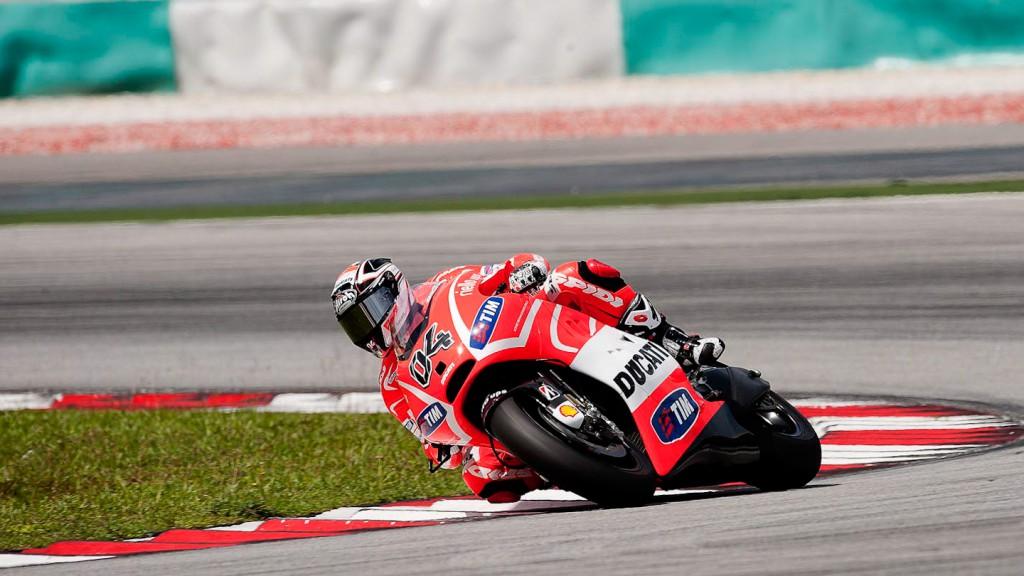 Andrea Dovizioso, Ducati Team - Sepang Official MotoGP Test 2