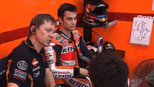 Pedrosa still quickest as MotoGP™ testing resumes