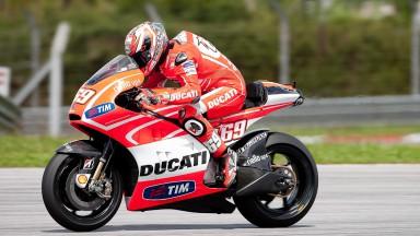 Nicky Hayden, Ducati Team - Sepang Official MotoGP Test 2