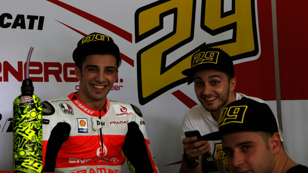 Andrea Iannone, Pramac Racing Team - Sepang Official MotoG Test 2