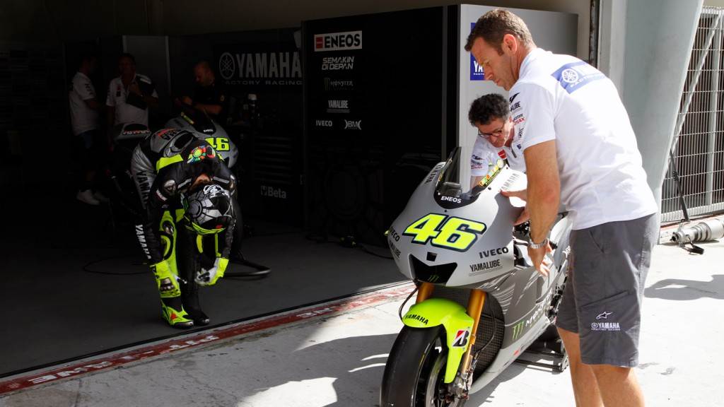 Valentino Rossi, Yamaha Factory Racing - Sepang Official MotoG Test 2