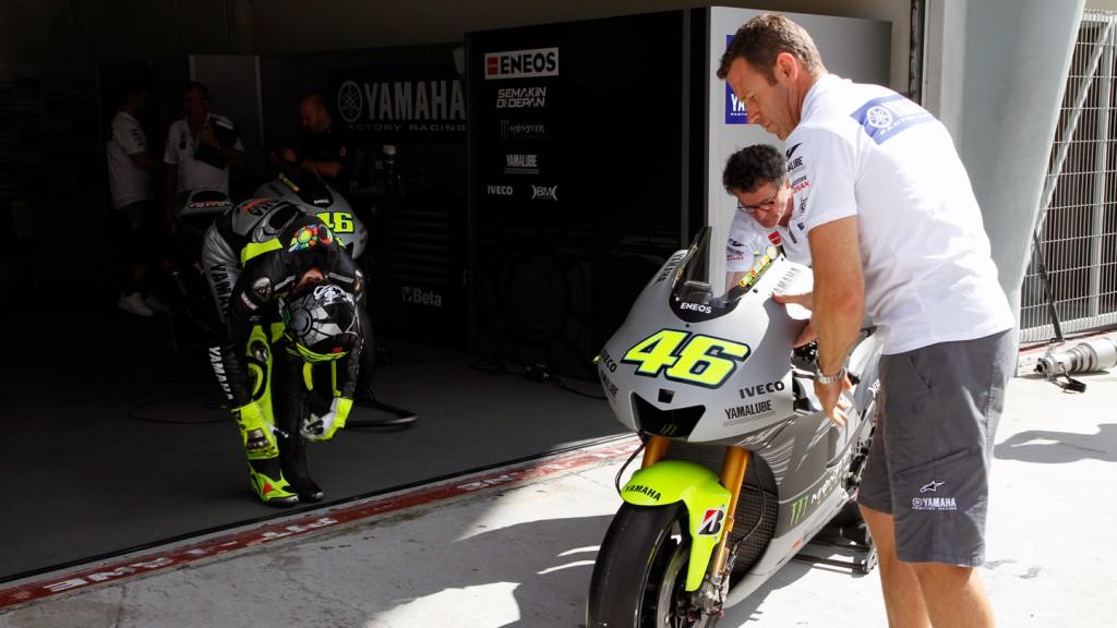 Valentino Rossi, Yamaha Factory Racing - Sepang Official MotoG Test 2