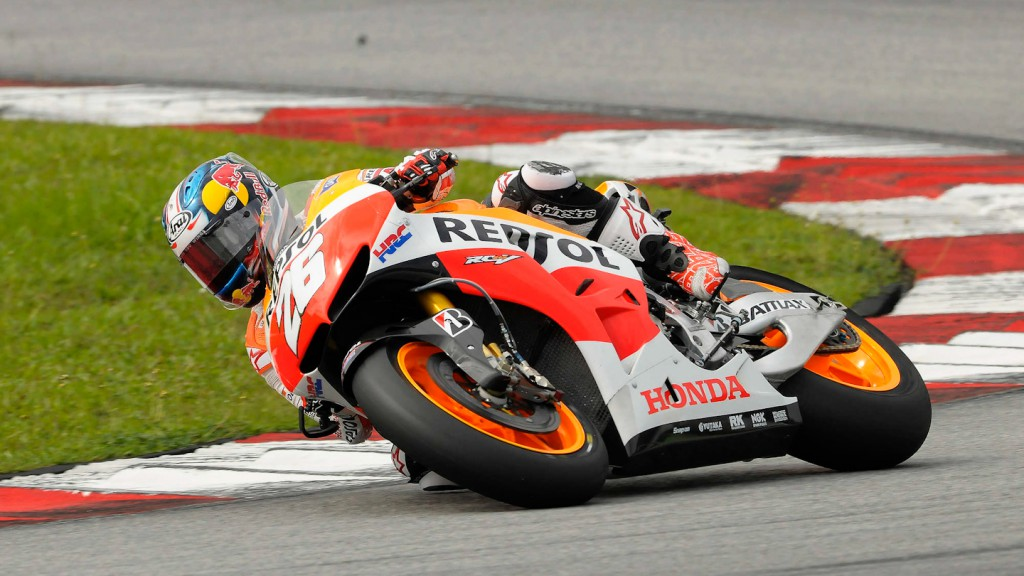 Dani Pedrosa, Repsol Honda Team - Sepang Official MotoGP Test 2