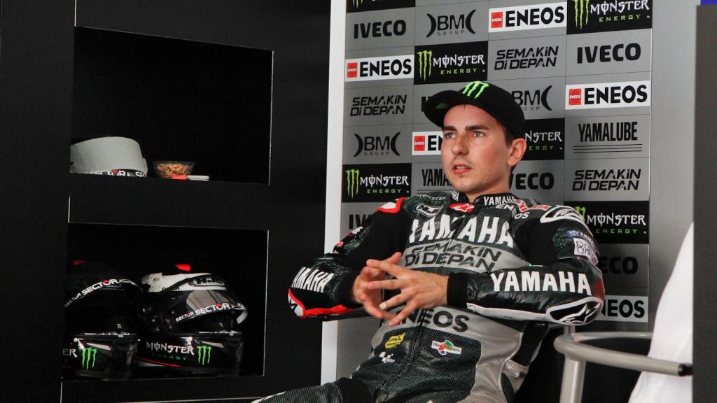 Jorge Lorenzo, Yamaha Factory Racing - Sepang Official MotoGP Test 2