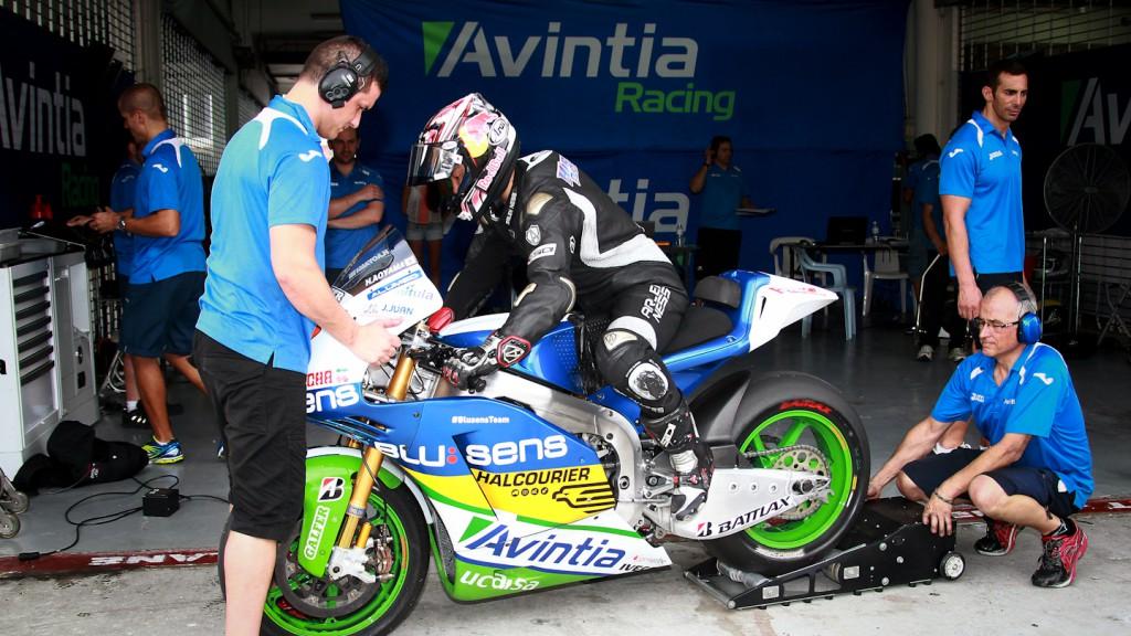 Hiroshi Aoyama, Avintia Blusens - Sepang Official MotoGP Test 2