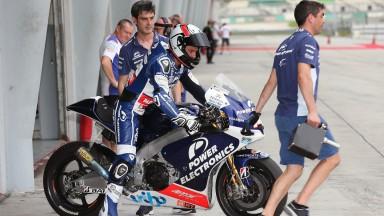 Randy de Puniet, Power Electronics Aspar - Sepang Official MotoGP Test 2