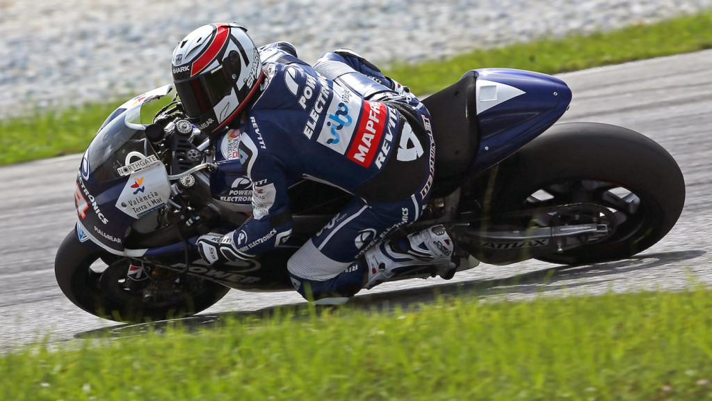 Randy de Puniet, Power Electronics Aspar - Sepang Official MotoGP Test 2