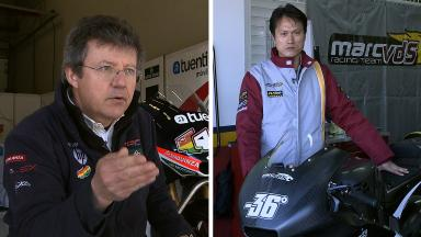 Teams and riders discuss Moto2™ 215kg weight rule