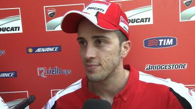 Dovizioso pleased with new chassis