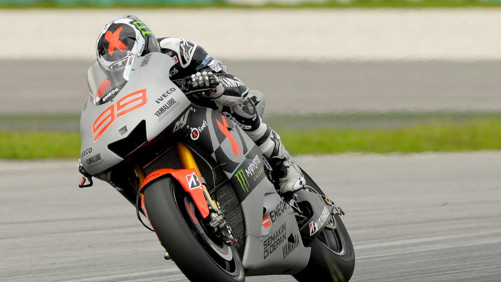 Jorge Lorenzo, Yamaha Factory Racing - Sepang Official MotoGP Test 2