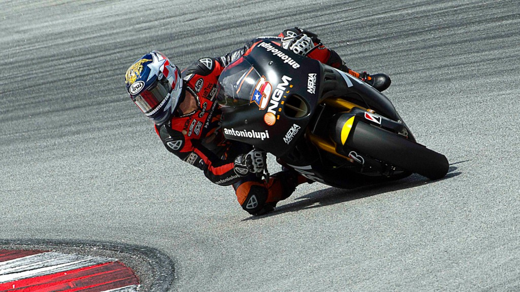 Colin Edwards, NGM Mobile Forward Racing - Sepang Official MotoGP Test 2