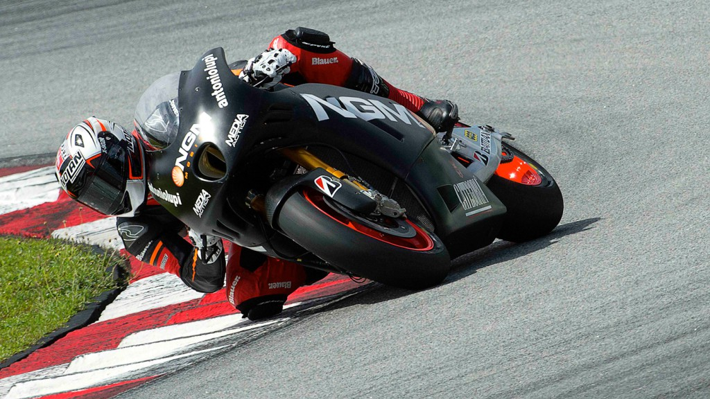 Claudio Corti, NGM Mobile Forward Racing - Sepang Official MotoGP Test 2