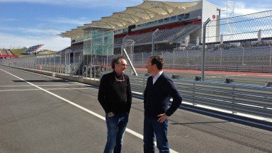 Franco Uncini, Javier Alonso - Circuit of the Americas