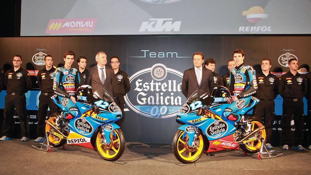 Rins, Marquez - Estrella Galicia 0,0 presentation