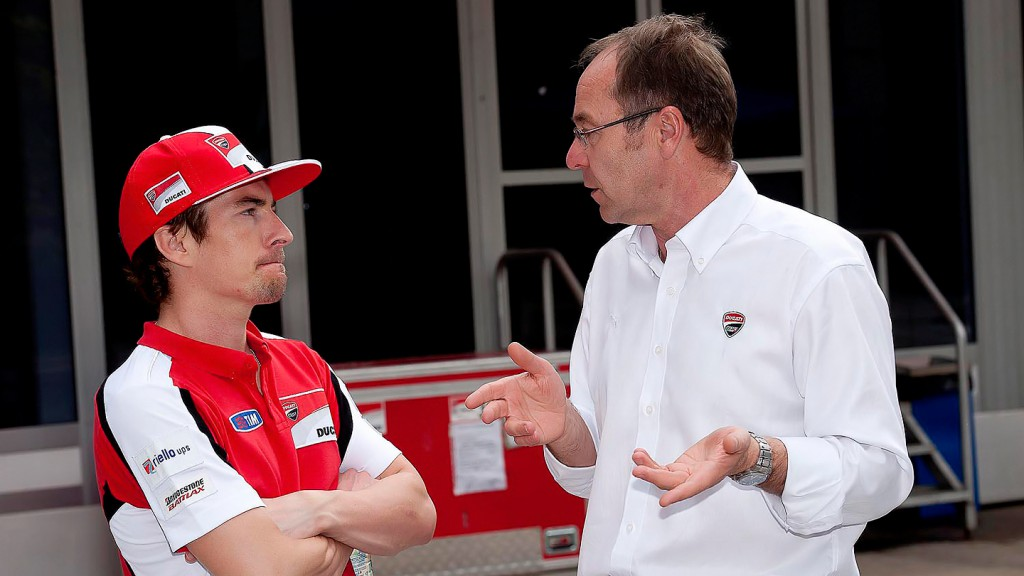 Hayden, Gobmeier, Ducati Team - Sepang Official MotoGP Test 2