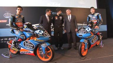 Estrella Galicia 0,0 presents team in Barcelona