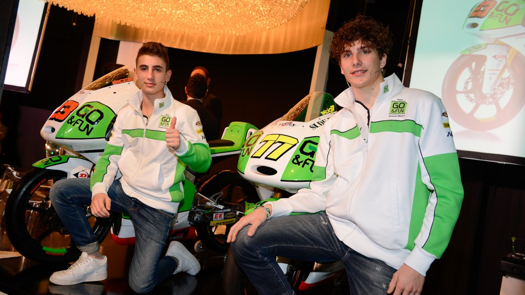 Team GO & FUN Honda Gresini Presentation, Milan