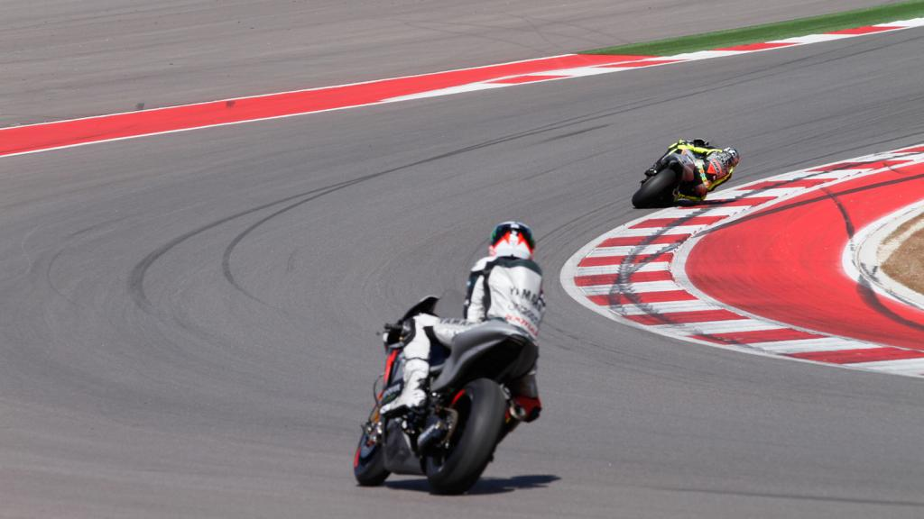 Valentino Rossi, Jorge Lorenzo, Yamaha Factory Racing Team - COTA MotoGP Test
