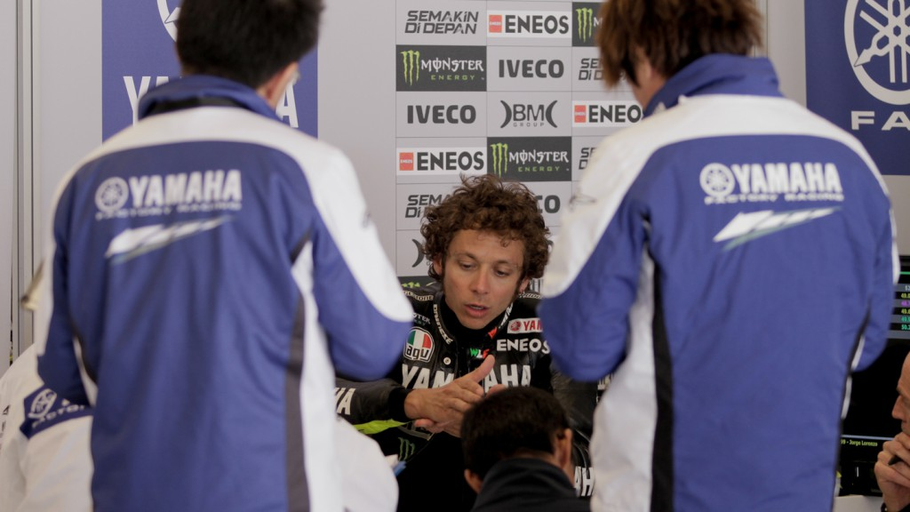 Valentino Rossi, Yamaha Factory Racing Team - COTA MotoGP Test