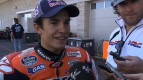Marquez on his progress at COTA