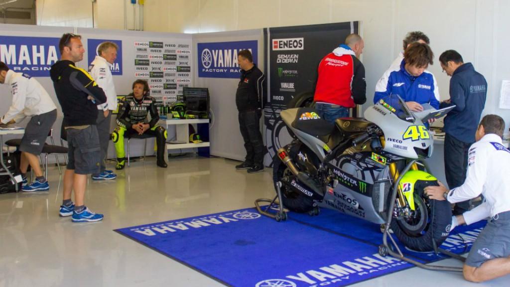 Valentino Rossi, Yamaha Factory Racing - COTA MotoGP Test