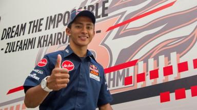 Zulfahmi Khairuddin, Red Bull KTM Ajo, 2013 project presentation, Malaysia