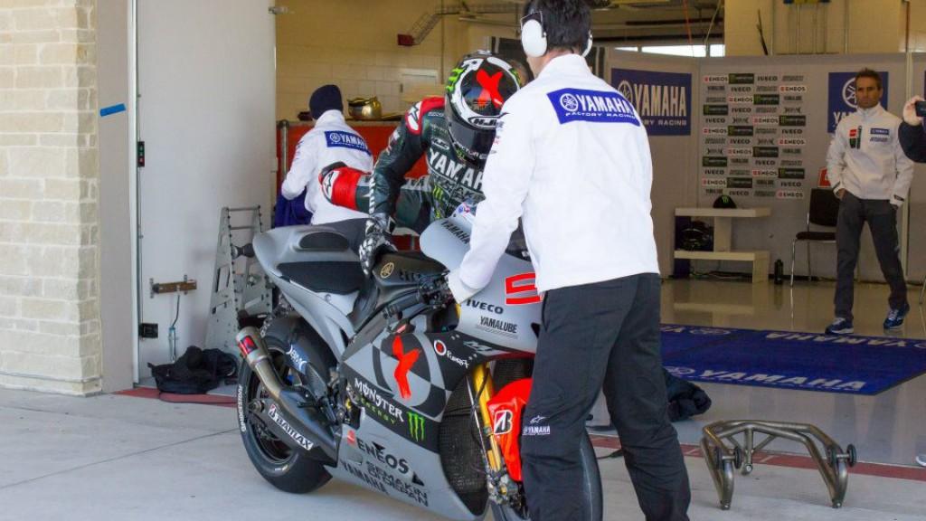 Jorge Lorenzo, Yamaha Factory Racing - COTA MotoGP Test