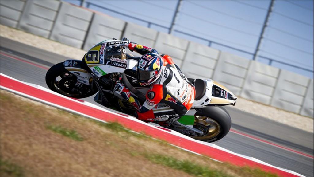 Stefan Bradl, LCR Honda MotoGP - COTA MotoGP Test