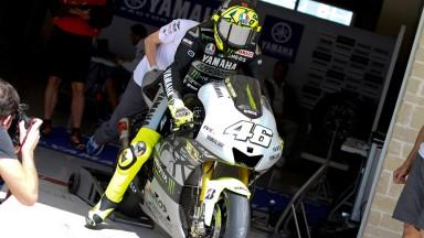 Valentino Rossi, Yamaha Factory Team - COTA MotoGP Test