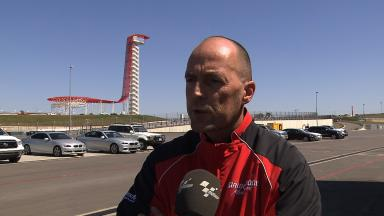 Bridgestone's Peter Baumgartner reviews COTA test