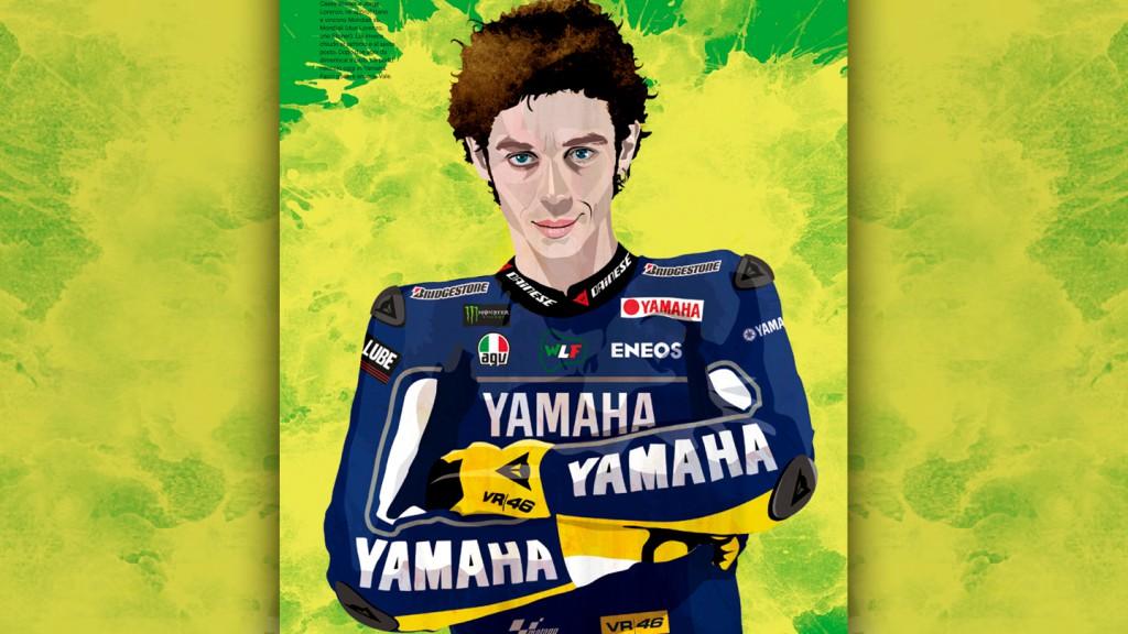 Valentino Rossi  - © Copyright Riders
