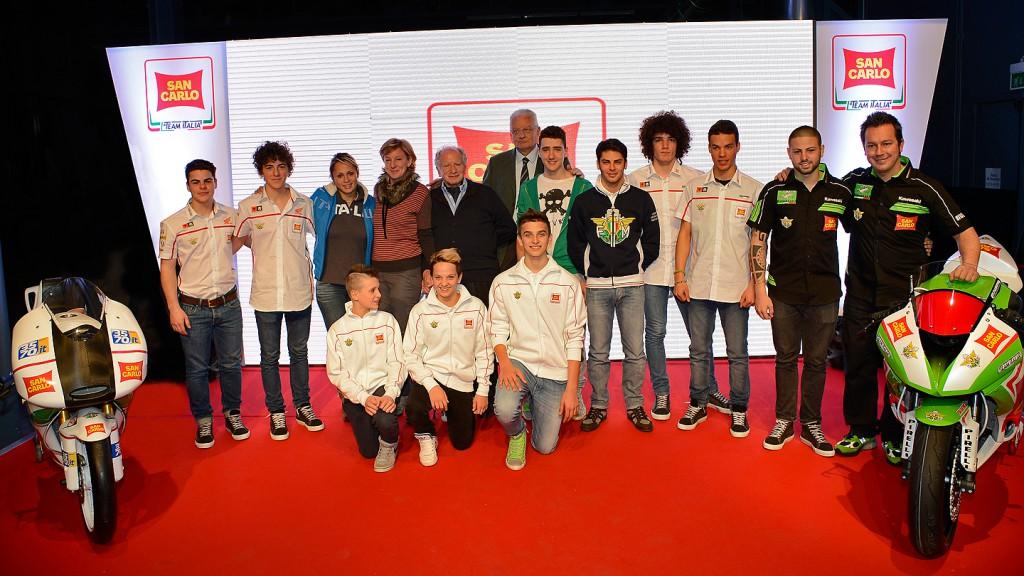 San Carlo Team Italia Presentation - Milan