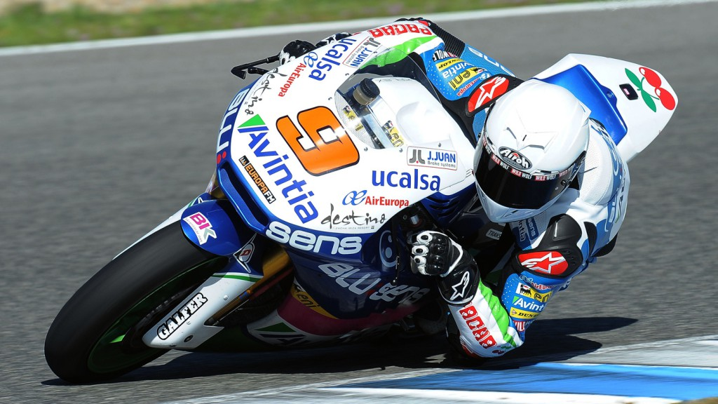 Kyle Smith, Blusens Avintia - Jerez Official Moto2 Test