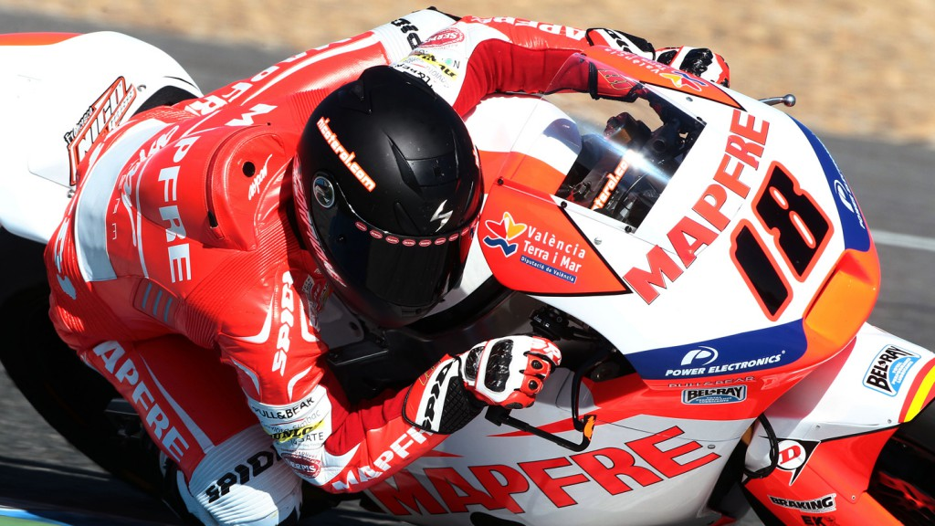 Nico Terol, Mapfre Aspar Team Moto2 - Jerez Official Moto2 Test