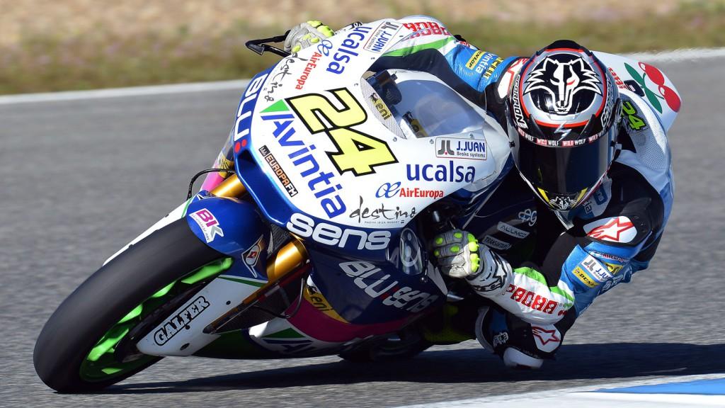 Toni Elias, Blusens Avintia - Jerez Official Moto2 Test
